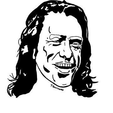 Tommy Wiseau The Room by jtownsend