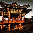 Dawn Pagoda by Bobby McLeod