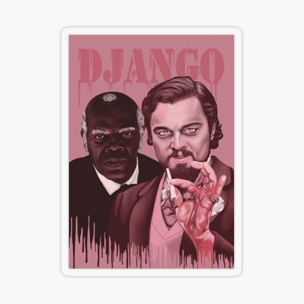 Django Unchained  Transparent Sticker