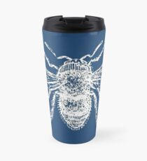 Bee (Blue) Travel Mug