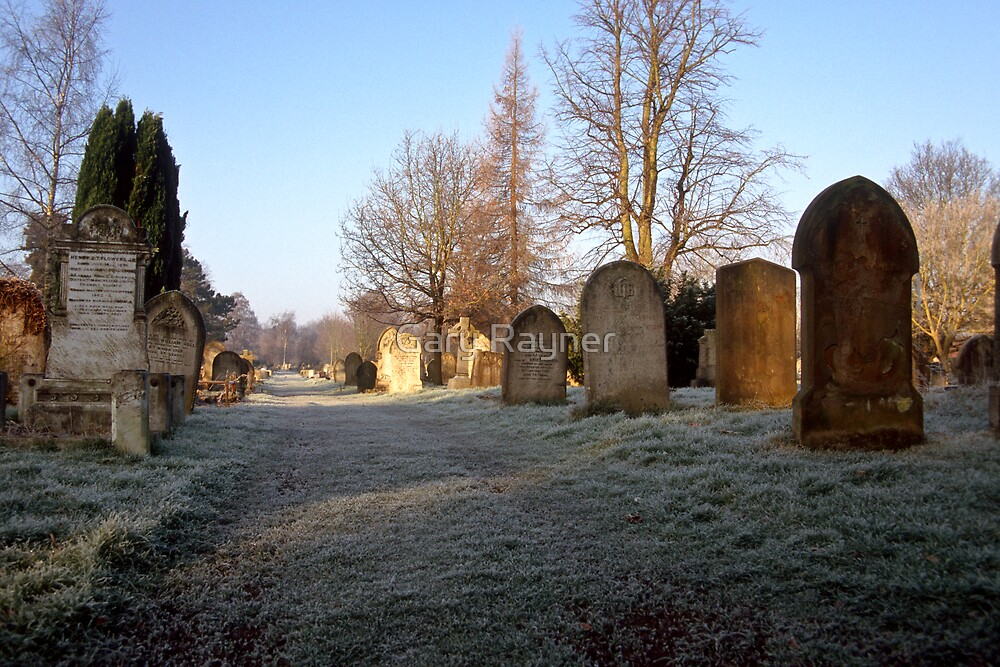 Earlham Cemetary, Norwich, UK by Gary Rayner