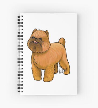 Brussels Griffon Spiral Notebook