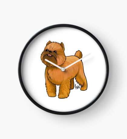 Brussels Griffon Clock