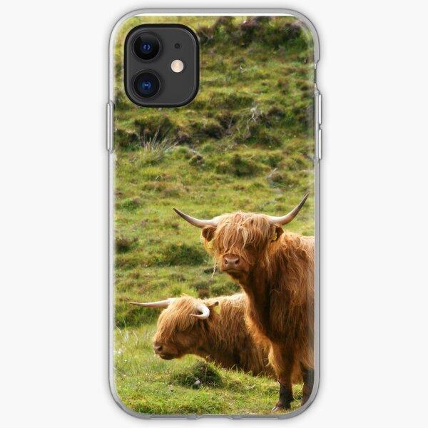 Scottish Highland Cows iPhone Soft Case