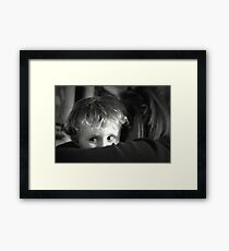 ~Give Your Aunty a Big Kiss~ Framed Print