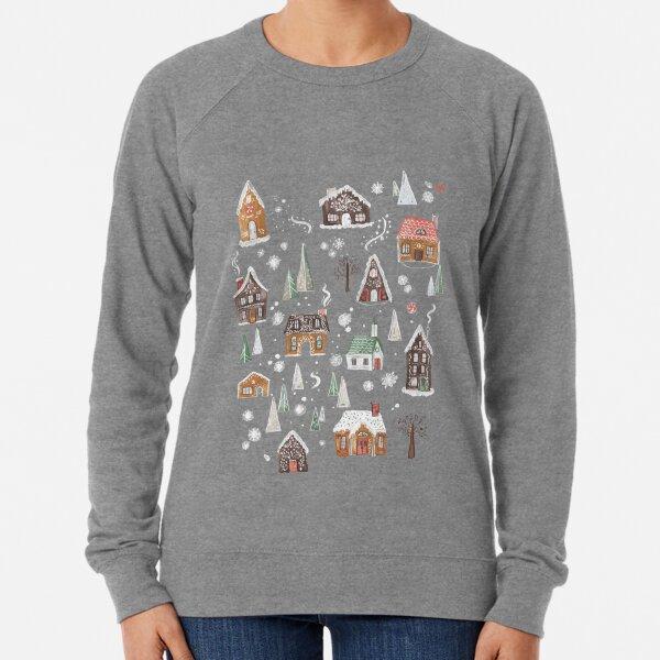 Gingerbread Village Lightweight Sweatshirt