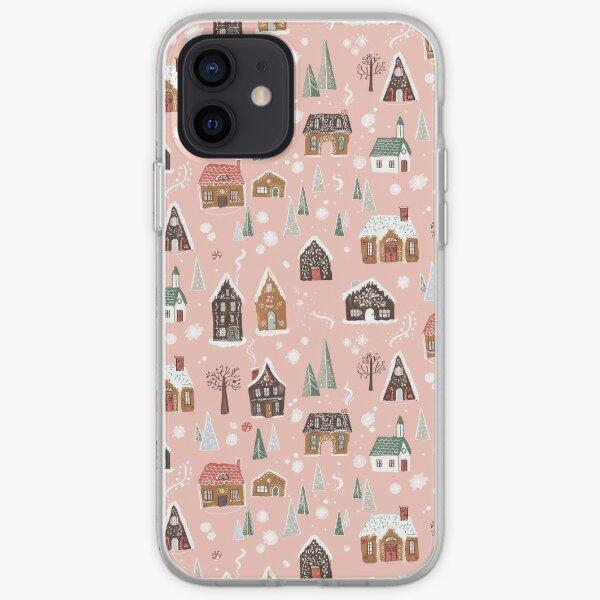 Gingerbread Village iPhone Soft Case