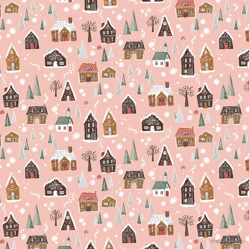 Gingerbread Village by thestorysmith