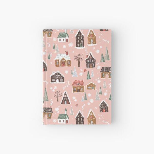 Gingerbread Village Hardcover Journal
