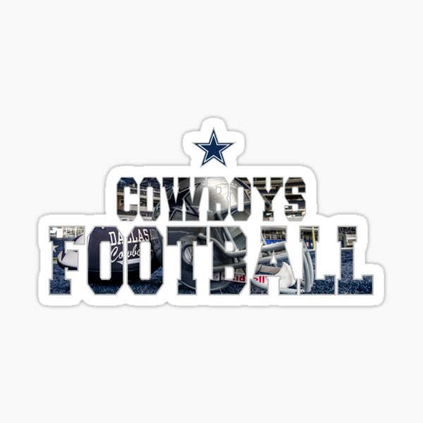 Football Cowboys Sticker