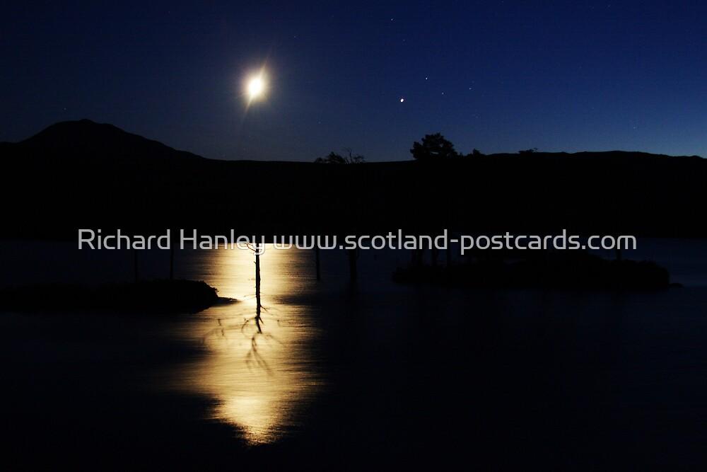 Moonlight Tree by Richard Hanley www.scotland-postcards.com