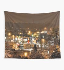 city nights Wall Tapestry