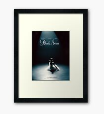 Black Swan - Poster Remake Framed Print