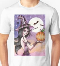 Adrianna - Pumpkin Witch T-Shirt