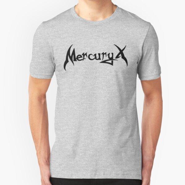 Mercury X Black Slim Fit T-Shirt
