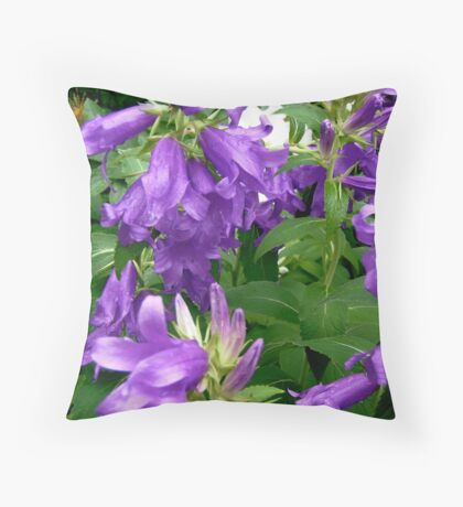 Purple flowers - All products Throw Pillow
