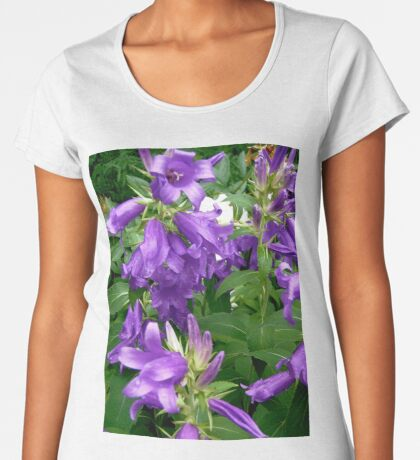 Purple flowers - All products Women's Premium T-Shirt