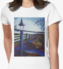 Garden on the Lake Women's Fitted T-Shirt