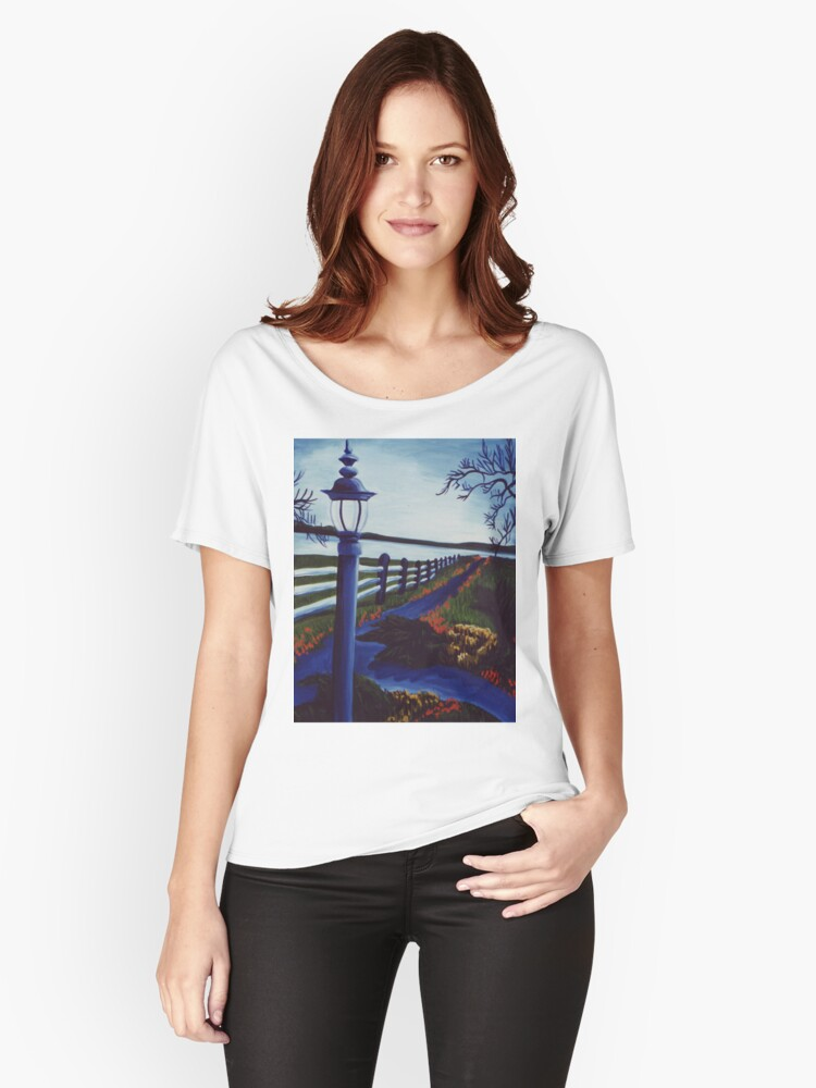 Garden on the Lake Women's Relaxed Fit T-Shirt Front