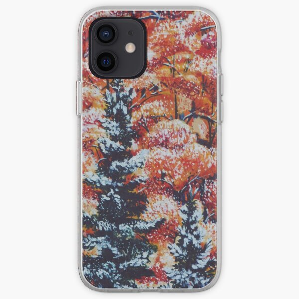 Harmony Between Fall and Winter iPhone Soft Case