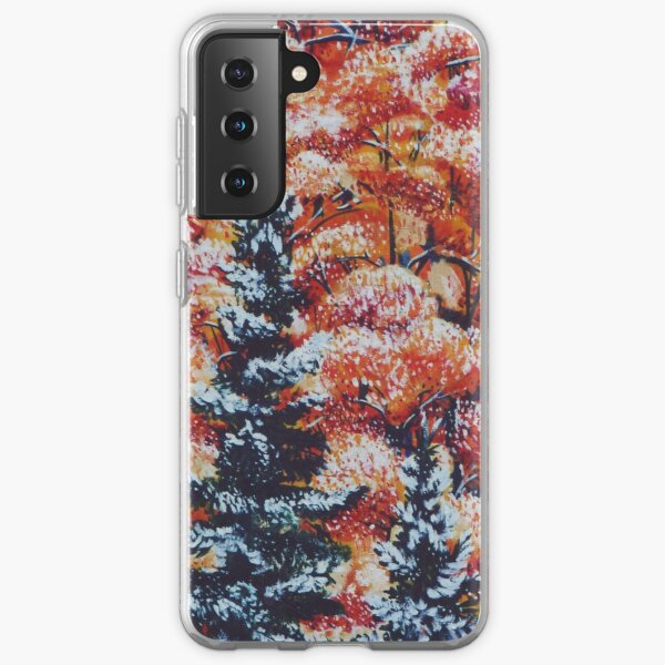 Harmony Between Fall and Winter Samsung Galaxy Soft Case