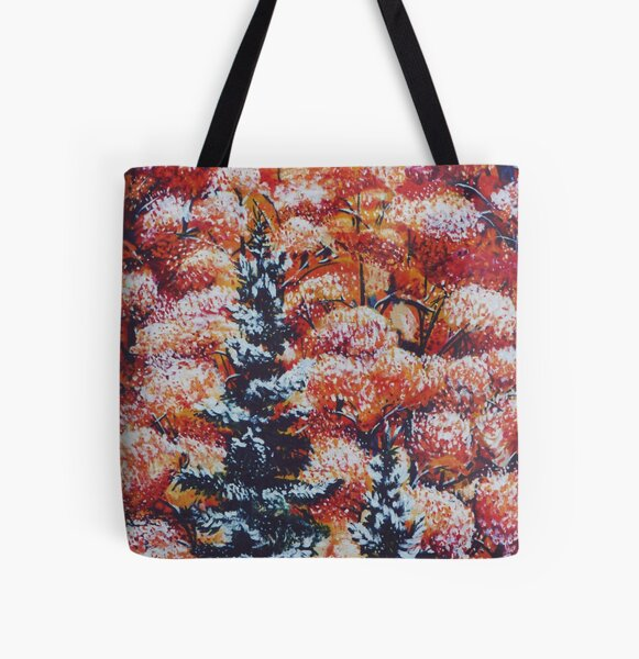 Harmony Between Fall and Winter All Over Print Tote Bag