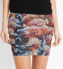Harmony Between Fall and Winter Mini Skirt