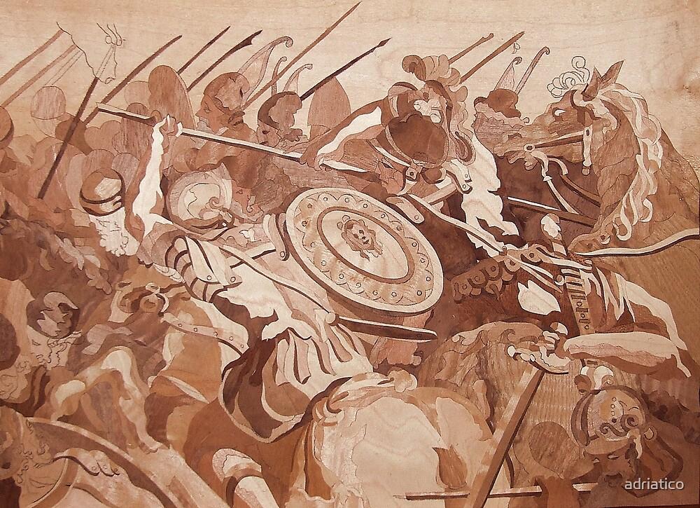 Vasari Giorgio-Cavalry Skirmish by adriatico