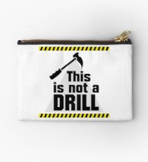 Construction - This is not a Drill VRS2 Studio Pouch