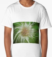 Macro Flower Long T-Shirt