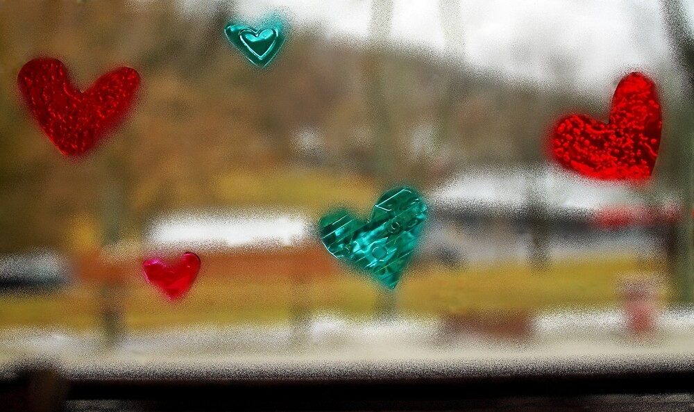 Window stickers by Karl Rose