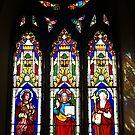 St John's Catholic Church, Richmond, Tasmania by Bev Pascoe