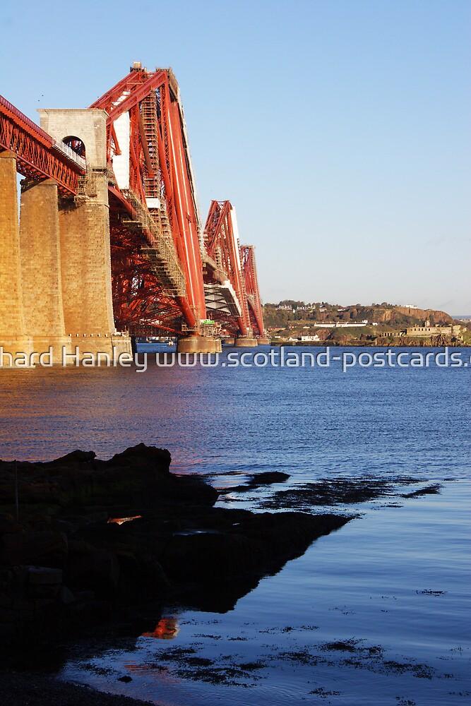 Firth Of Forth Rail Bridge by Richard Hanley www.scotland-postcards.com