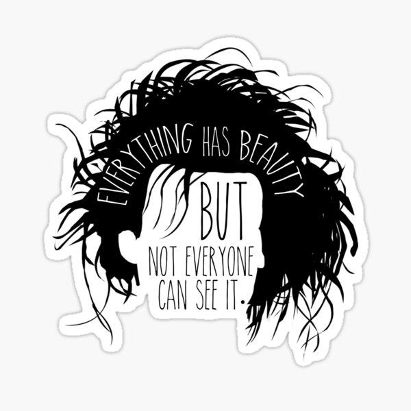 Edward Scissorhands - Beauty Sticker