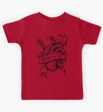 Draw or Die - Black and Grey Kids Clothes