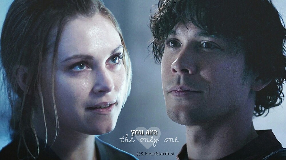 Bellarke - the only one | The100 by silverxstardust