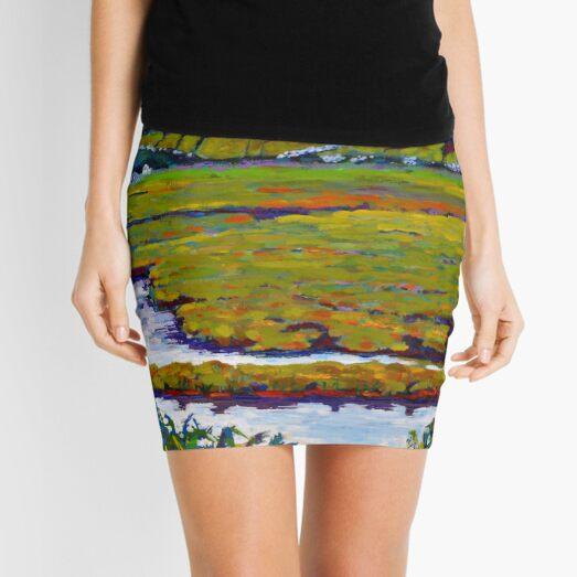 Mayo Field, Ireland Mini Skirt