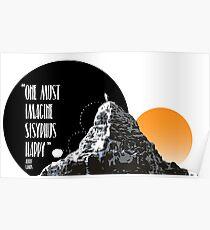 Sisyphus is happy Poster