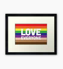 Love Everyone Framed Print