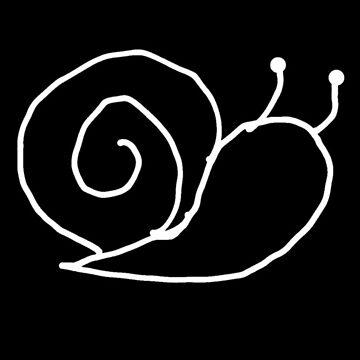 Snail // Line Art by Allison-Daniel