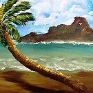 Palm Before The Storm by WhiteDove Studio kj gordon