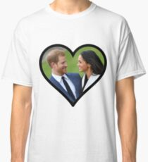 Prince Harry and Megan Markle Classic T-Shirt