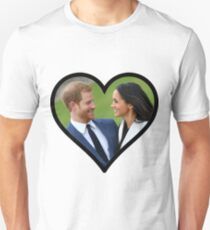 Prince Harry and Megan Markle Unisex T-Shirt