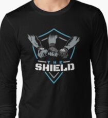 The Shield (Triple H) Blue-White [Available in 10 colors] T-Shirt
