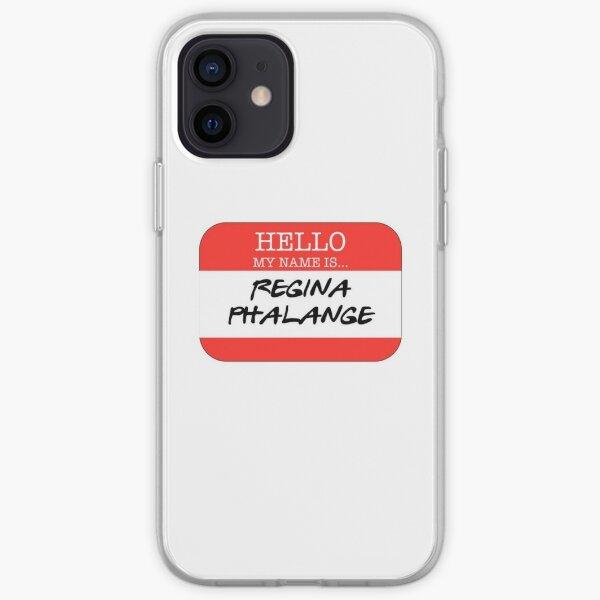 Hola mi nombre es Regina Falange Funda blanda para iPhone