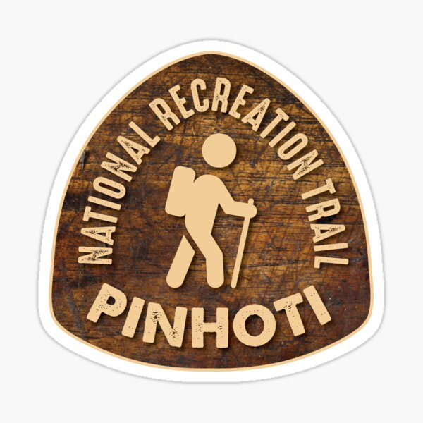 PInhoti National Recreation Trail, Alabama  Sticker