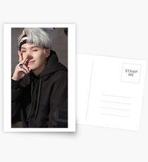 BTS Suga Postkarten