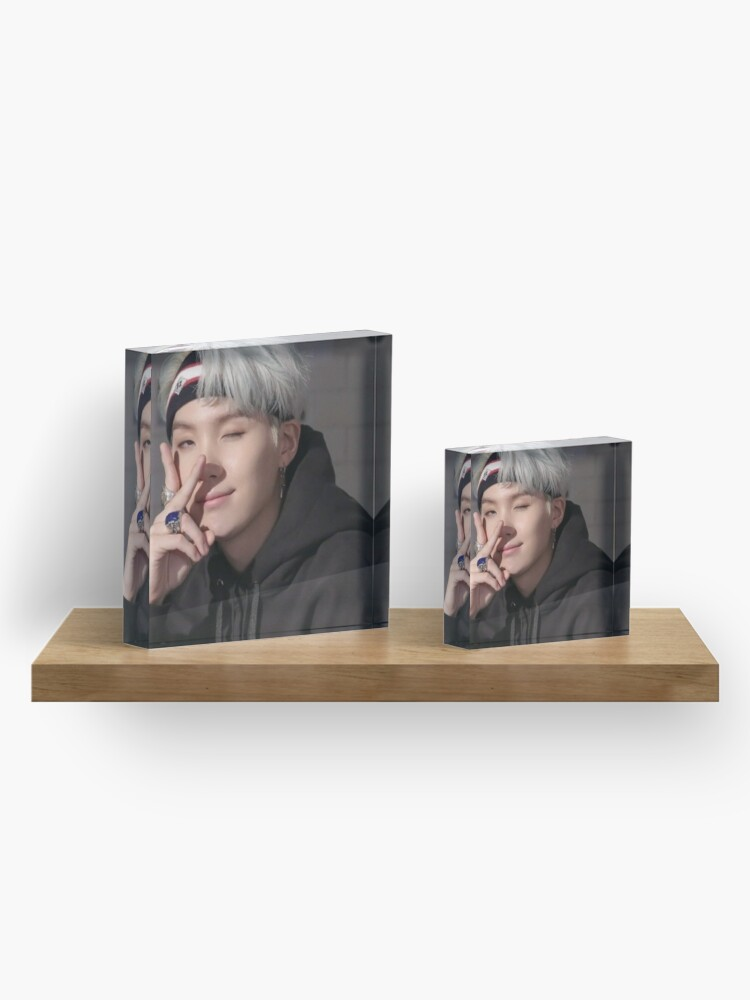Alternate view of BTS Suga Acrylic Block