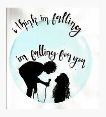 fallingforyou Photographic Print