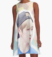 Möchte One Kang Daniel A-Linien Kleid